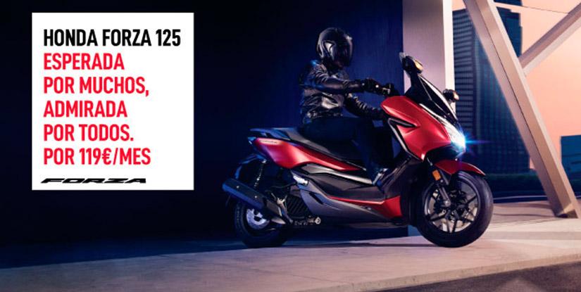Honda Forza 125 cuota, precio