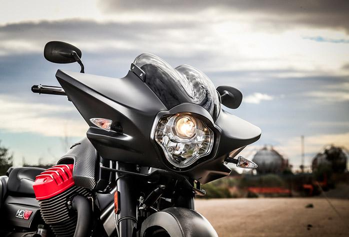 Frontal Moto Guzzi MGX21