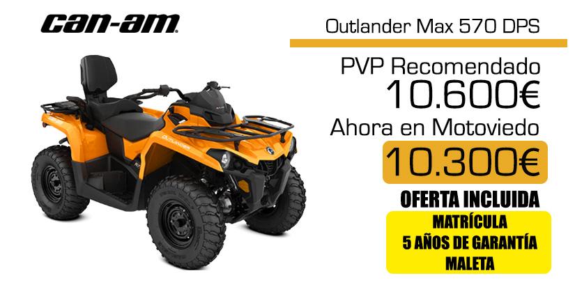 Oferta quad Canam Outlander Max 570 DPS