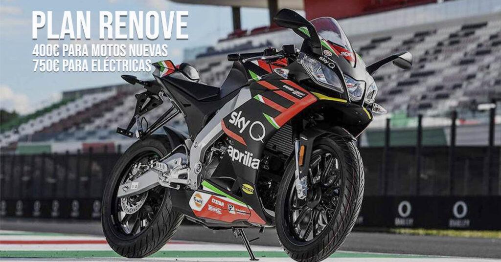 Plan Renove 2020 para motos nuevas