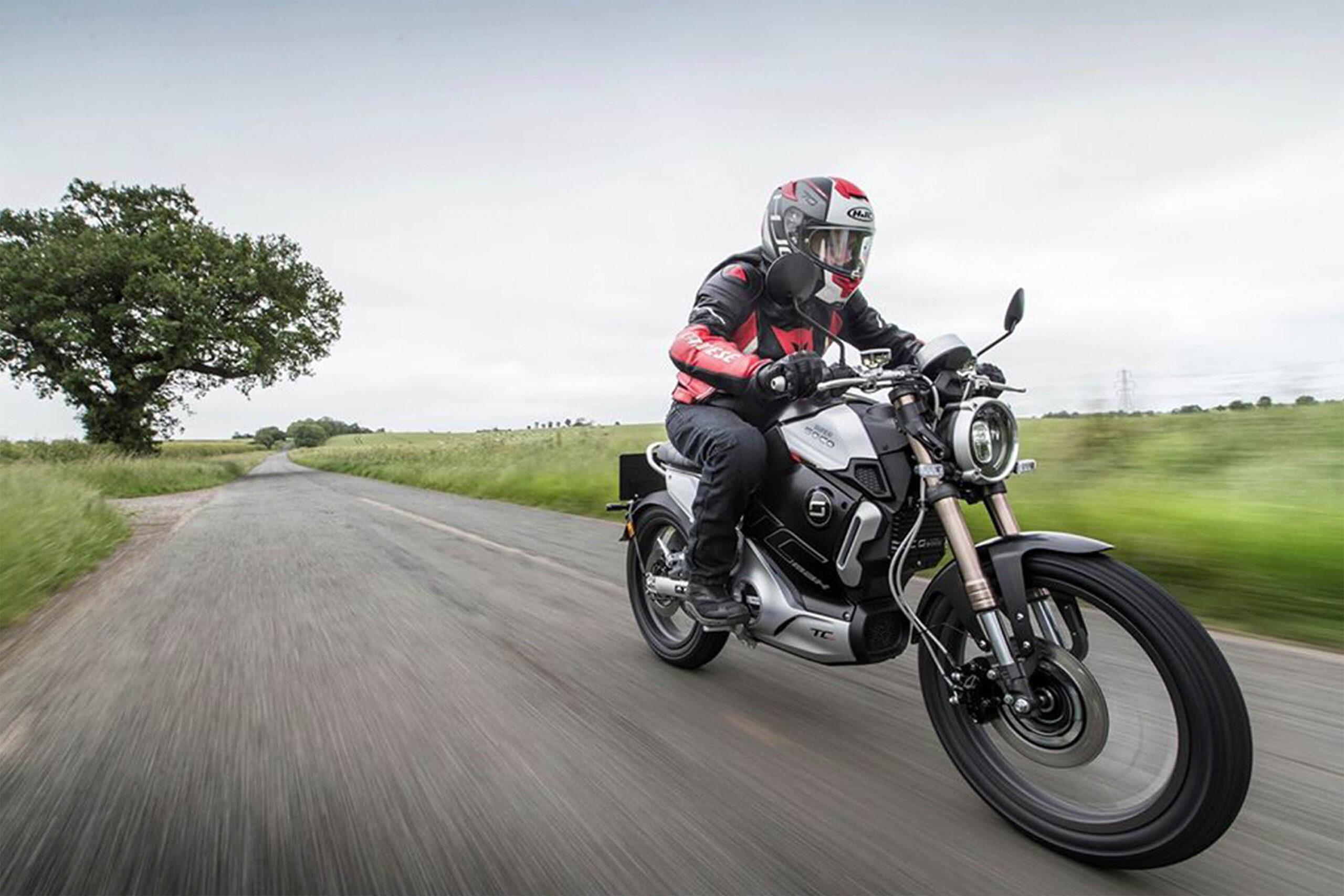 Super Soco Tc Max moto eléctrica